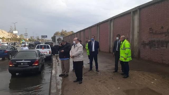 محافظ القاهرة محذراً من موجة طقس سيئة: الخروج للضرورة القصوى