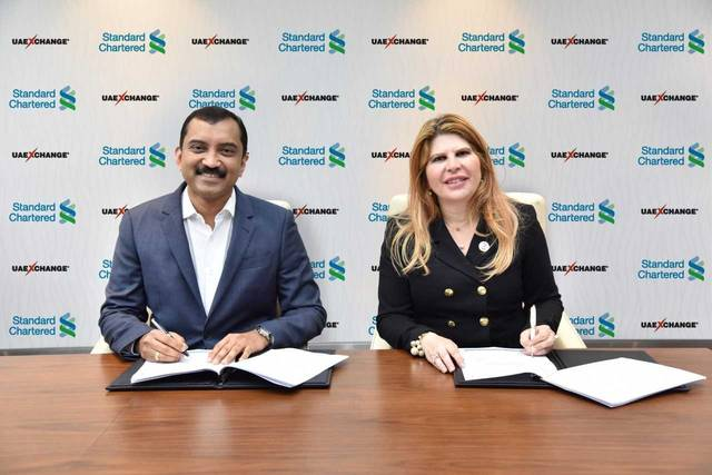 The new solution will allow corporate clients of Standard Chartered to deposit cash at the nearest UAE Exchange branch