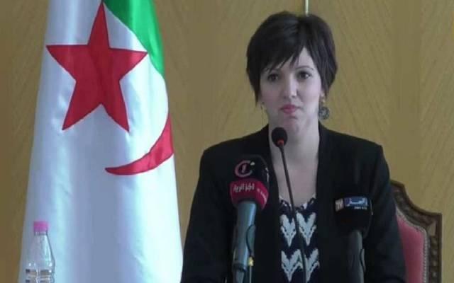 وزيرة الثقافة الجزائرية المستقيلة
