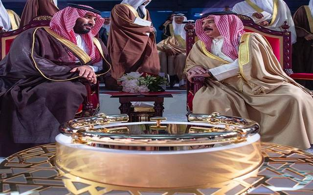 ملك البحرين وولي العهد السعودي