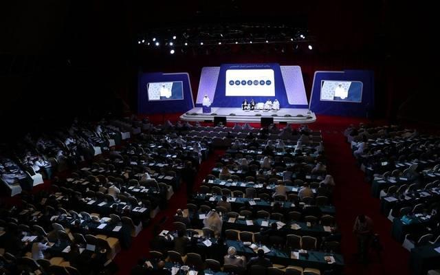 خلال انعقاد مؤتمر الدوحة الخامس للمال الإسلامي
