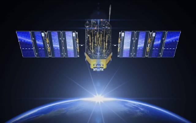 صورة تعبيرية لإطلاق قمر صناعي بالفضاء