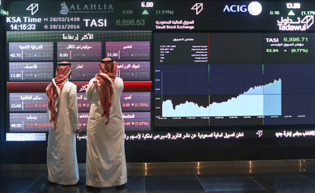 Most of the GCC markets saw a downward trend on Sunday