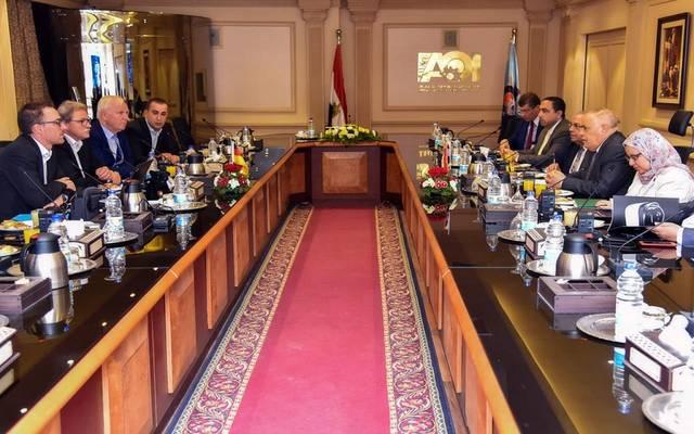 خلال لقاء الهيئة العربية للتصنيع مع دالمير الألمانية