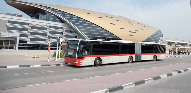 حافلة بإمارة دبي