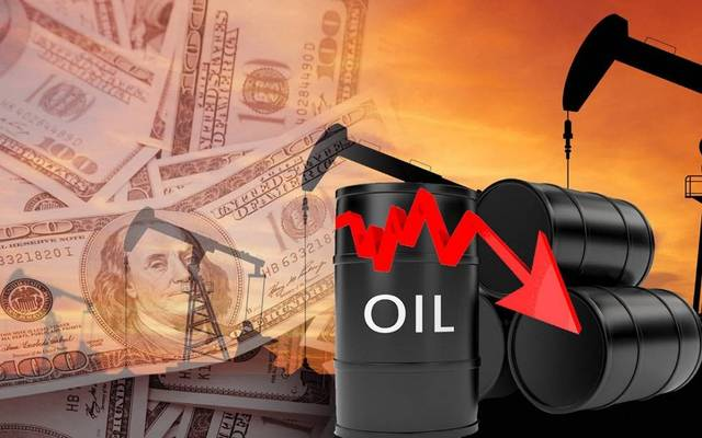 Brent crude futures went down by 2.2%