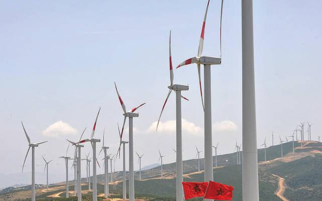 إحدى محطات طاقة الرياح بالمغرب