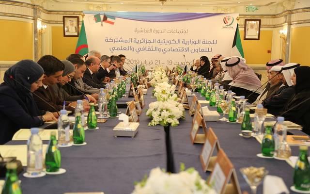 على جانب الاجتماعات الكويتية الجزائرية اليوم