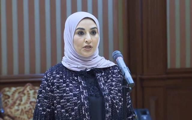 وزيرة المالية ووزيرة الدولة للشؤون الاقتصادية بالوكالة في الكويت، مريم العقيل
