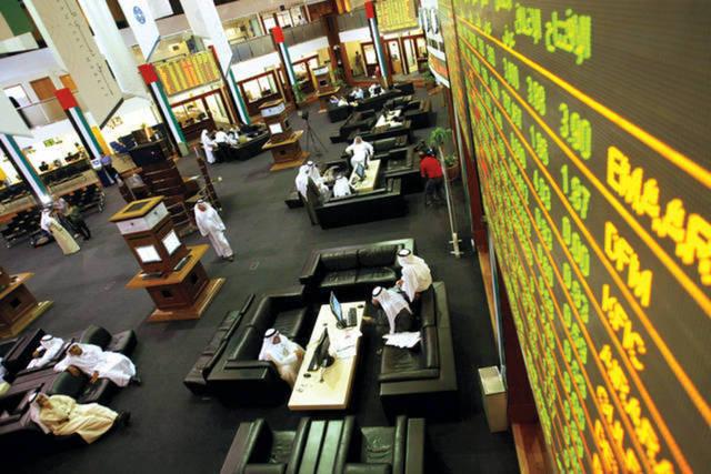 تصدر التداولات من حيث السيولة سهم أرابتك القابضة بنحو 57.65 مليون درهم.