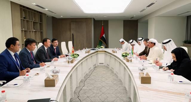 ملياري دولار التبادل التجاري بين الإمارات و قيرغيزستان