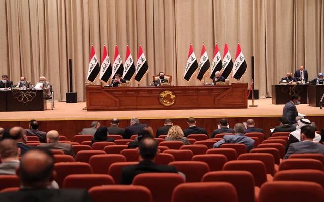 جانب من جلسة مجلس النواب لمناقشة آلية توزيع الدوائر الانتخابية