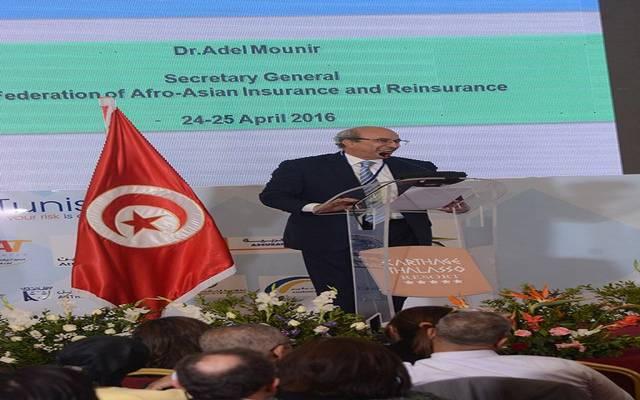 الأمين العام للاتحاد الأفروآسيوي للتأمين وإعادة التامين الدكتور عادل منير