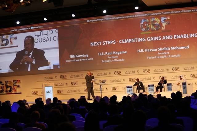 فعاليات سابقة للمنتدى العالمي الأفريقي للأعمال بدبي