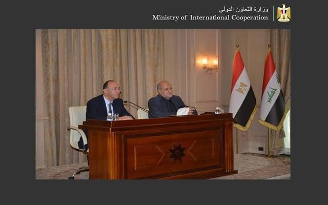 خلال اجتماعات اللجنة المصرية العراقية العليا المشتركة على مستوى الخبراء ببغداد