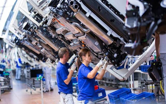 Euro's industrial output falls 0.6% in September