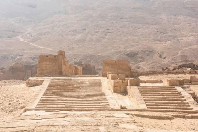 جانب من مشاريع تطوير المواقع الأثرية في سوهاج