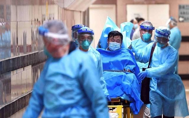 أحد المصابين بفيروس كورونا