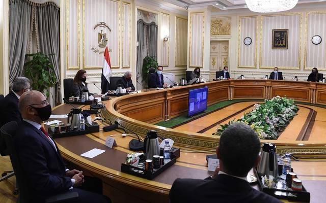 """لقاء رئيس الوزراء المصري بأعضاء غرفة التجارة الأمريكية عبر""""الفيديو كونفرانس"""""""