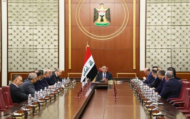 اجتماع مجلس الوزراء العراقي برئاسة عادل عبدالمهدي