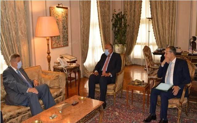 شكري والمنسق الأممي الخاص في لبنان يؤكدان ضرورة الاستمرار في دعم بيروت خلال المرحلة الحالية