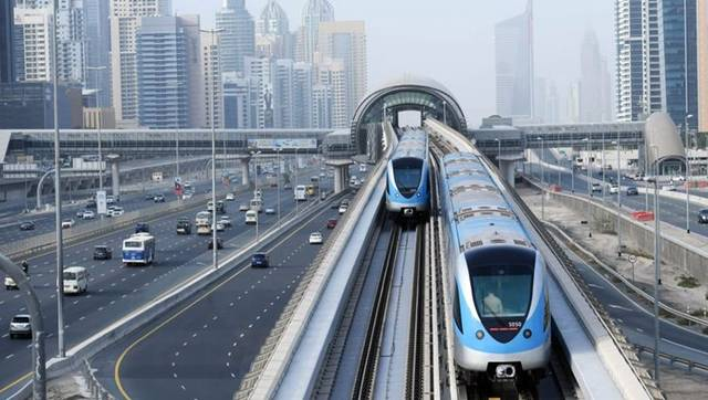 أحد الطرق الرئيسية بإمارة دبي