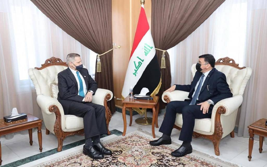 The United States declares its readiness to support Iraq in implementing the dams 1024