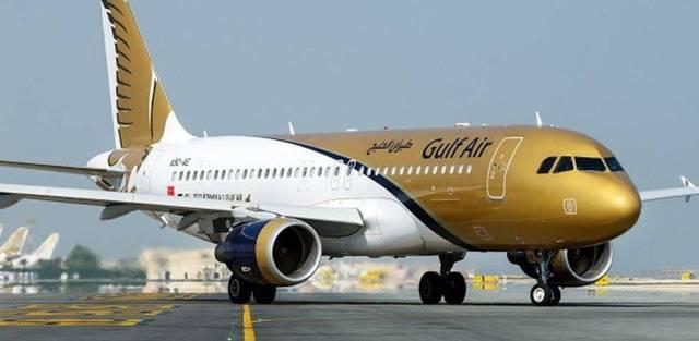 طائرة مملوكة لشركة طيران الخليج