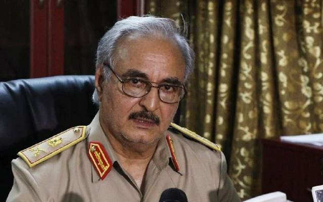 القائد العام للجيش الوطني الليبي المشير خليفة حفتر