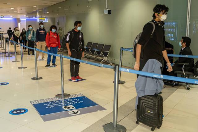 صالة المسافرين في مطارات أبوظبي