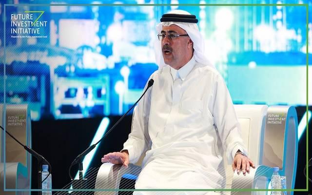 أمين الناصر، رئيس شركة أرامكو السعودية خلال مبادرة مستقبل الاستثمار بالمملكة 2018- أرشيفية