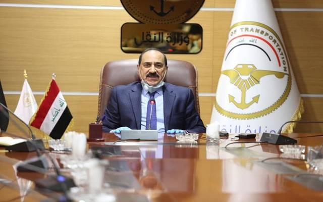 وزير النقل العراقي، ناصر الشبلي، أرشيفية