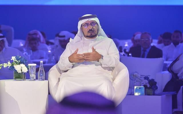 محافظ هيئة الكهرباء السعودية عبدالله الشهري، خلال منتدى مكة الاقتصادي