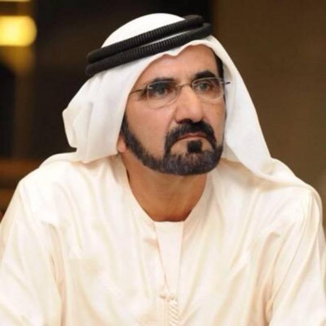 الشيخ محمد بن راشد آل مكتوم نائب رئيس الدولة رئيس مجلس الوزراء حاكم دبي
