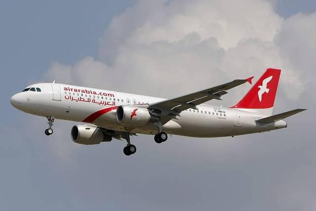 إحدى الطائرات المملوكة لشركة العربية للطيران