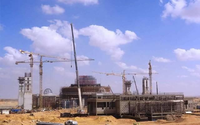 رئيس المقاولون العرب: إنجاز 75% من أعمال مسجد العاصمة الإدارية