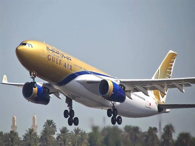 طائرة تابعة لطيران الخليج