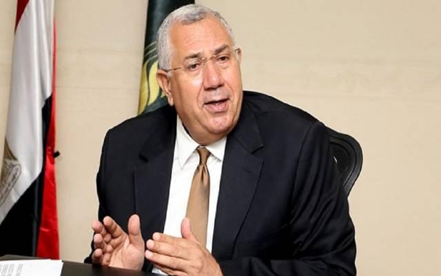 السيد القصير وزير الزراعة المصري