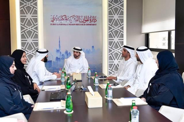 إجتماع سابق لدائرة الموارد البشرية في دبي