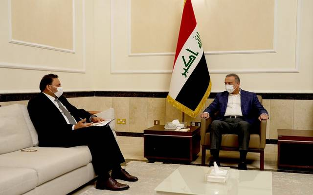 رئيس مجلس الوزراء العراقي يستقبل النائب الأول لرئيس مجلس النواب