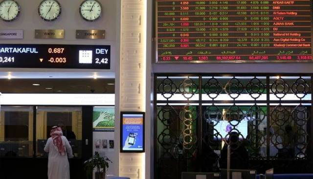 The DFM's general index inched down 0.83 points, or 0.03%, to 2,622.64 points