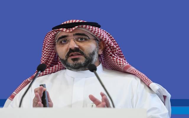 مدير عام مركز الأبحاث والمعلومات السياحية بالسعودية، حسن جنة، خلال كلمته في المؤتمر