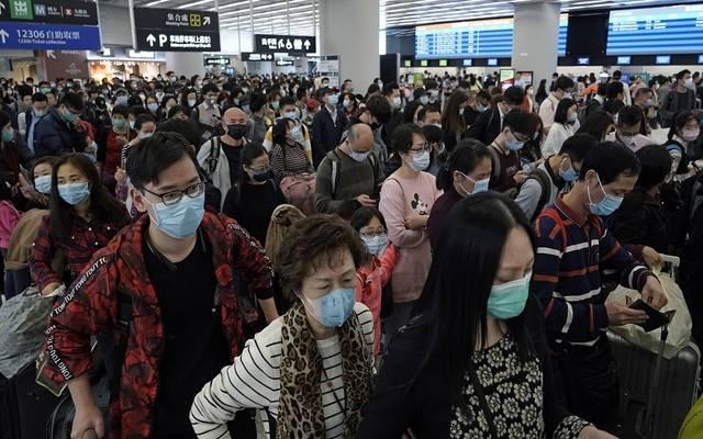 مواطنون في الصين بعد تفشي فيروس كورونا