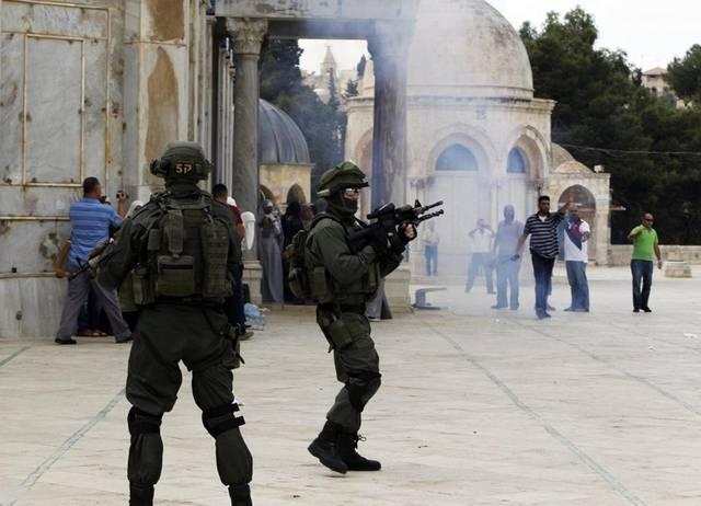 انتهاكات الاحتلال الإسرائيلي للمسجد الأقصى