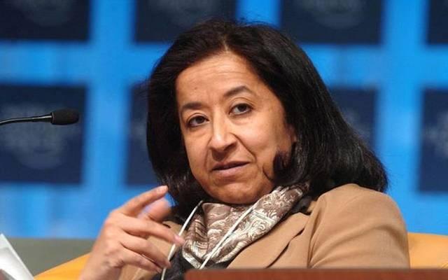 لبنى العليان رئيس مجلس إدارة البنك السعودي البريطاني (ساب) - أرشيفية