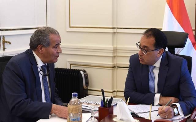 اجتماع رئيس الحكومة مع وزير التموين