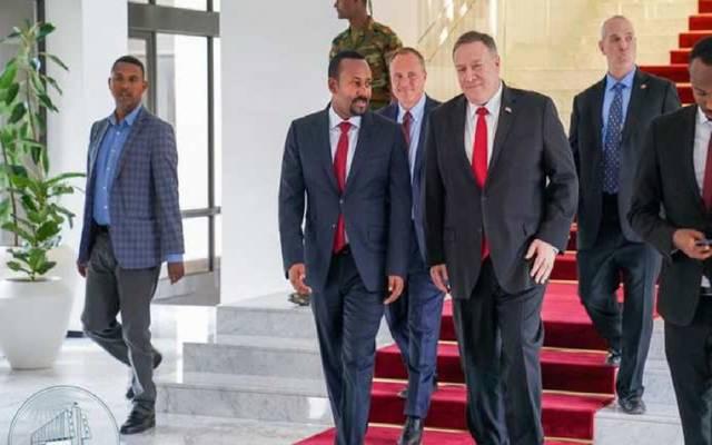 خلال زيارة بومبيو لإثيوبيا