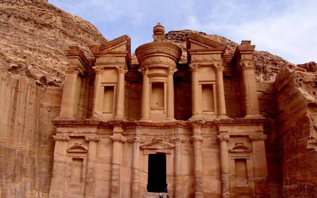 مدينة البتراء الأثرية الأردنية