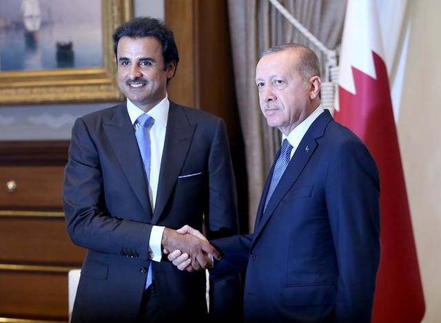 Tamim and Erdogan discussed bilateral relations and regional matters