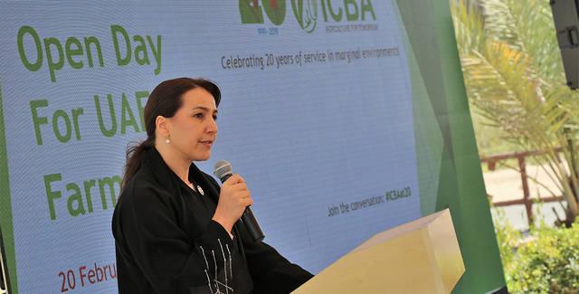مريم بنت محمد المهيري وزيرة الدولة للأمن الغذائي بالإمارت